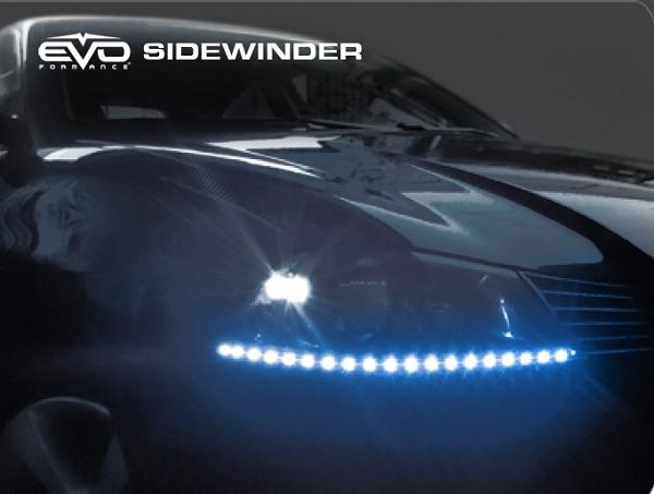 Cipa 93308 Evo Formance Led Sidewinder Eyebrows 50cm Blue