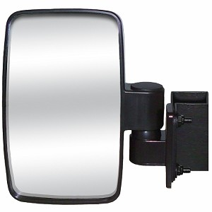 CIPA 01140 Square Clamp Side View Mirror for Utility Vehicles and Side by Sides