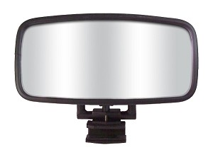 "CIPA 01874 COMP Marine 7"" x 14"" Mirror with Round Bracket"