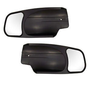 CIPA 10900 2007-2013 Silverado/Sierra and 2007-2014 New Body-Style Chevy/GMC/Cadillac Custom Towing Mirrors Pair