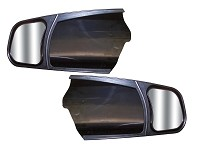 CIPA 11300  2007-2017 Toyota Tundra and 2008-2017 Sequoia Custom Towing Mirrors Standard mirrors Only Pair