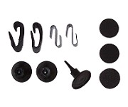 CIPA 11961 Black Conical Feet Replacement Hardware Kit for Universal Towing Mirror #11960