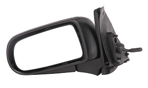 CIPA 15746 Original Style Replacement Mirror Mazda Driver Side Manual Remote Non-Heated Black