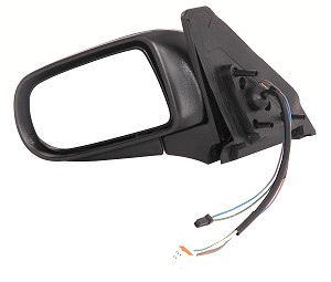 CIPA 15748 Original Style Replacement Mirror Mazda Driver Side Power Remote Foldaway Non-Heated Black