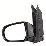 CIPA 15750 Original Style Replacement Mirror Mazda Driver Side Manual Foldaway Non-Heated Black