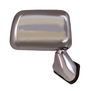 CIPA 17095 Original Style Replacement Mirror Toyota Passenger Side Manual Foldaway Non-Heated Chrome
