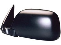 CIPA 17193 Original Style Replacement Mirror Toyota Driver Side Manual Foldaway Non-Heated Black