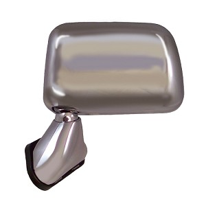 CIPA 17195 Original Style Replacement Mirror Toyota Driver Side Manual Foldaway Non-Heated Chrome