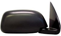CIPA 17425 Original Style Replacement Mirror Toyota Passenger Side Manual Foldaway Non-Heated Black