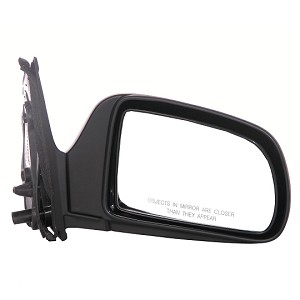 CIPA 17496 Original Style Replacement Mirror Toyota Driver Side Manual Foldaway Non-Heated Black