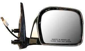 CIPA 17472 Original Style Replacement Mirror Toyota Passenger Side Power Remote Foldaway Non-Heated Chrome