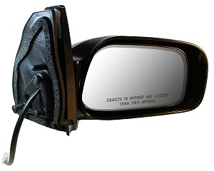 CIPA 17546 Original Style Replacement Mirror Toyota Passenger Side Power Remote Non-Heated Non-Foldaway Black