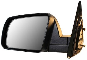 CIPA 17585 Original Style Replacement Mirror Toyota Driver Side Manual Non-Heated Foldaway Black