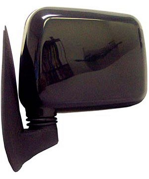 CIPA 19490 Original Style Replacement Mirror Isuzu Driver Side Manual Foldaway Non-Heated Black
