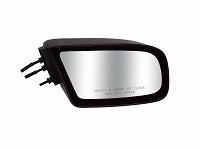 CIPA 27194 Original Style Replacement Mirror Chevrolet/Buick/Pontiac Passenger Side Manual Non-Foldaway Non-Heated Black