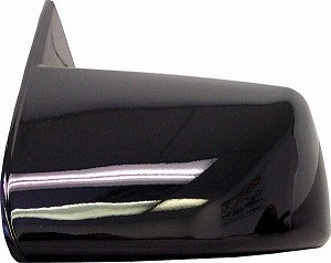 CIPA 27404 Original Style Replacement Mirror Chevrolet/GMC Driver Side Manual Non-Foldaway Non-Heated Black