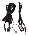 CIPA 36500WIRE Wire Harness for Wedge Base Auto Dimming Mirror with Compass, Temperature, and Map Lights (36500)