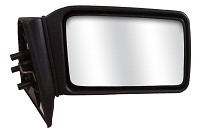 CIPA 42207 Original Style Replacement Mirror Ford Passenger Side Manual Remote Non-Foldaway Non-Heated Black
