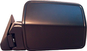 CIPA 43084 Original Style Replacement Mirror Jeep Driver Side Power Remote Non-Foldaway Non-Heated Black