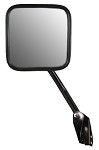 CIPA 44651 Original Style Replacement Mirror Jeep Passenger Side Manual Non-Heated Black