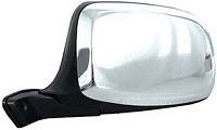 CIPA 45392 Original Style Replacement Mirror Ford Driver Side Manual Foldaway Non-Heated Chrome Cap