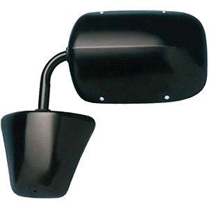 CIPA 46274 Original Style Replacement Mirror Dodge Driver Side Power Remote Foldaway Non-Heated Black