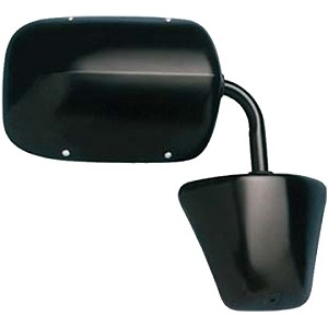 CIPA 46275 Original Style Replacement Mirror Dodge Passenger Side Power Remote Foldaway Non-Heated Black