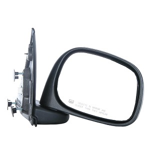 CIPA 46431 Original Style Replacement Mirror Dodge Passenger Side Power Remote Foldaway Heated Black