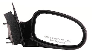 CIPA 46451 Original Style Replacement Mirror Chrysler Passenger Side Manual Foldaway Non-Heated Black