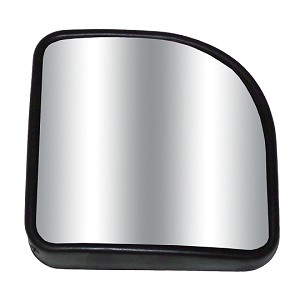 "CIPA 49405 Corner Wedge 2"" X 2"" Stick-On Convex HotSpot Mirror"