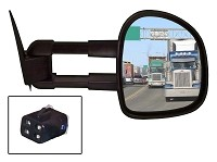 CIPA 70010 Passenger Side  Extendable Replacement Mirror for Pair 70000