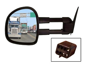 CIPA 70121 Magna Extendable Replacement Mirror Driver Side Chevrolet/GMC