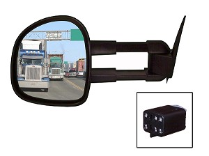 CIPA 70511 Magna Extendable Replacement Mirror Driver Side Chevrolet/GMC
