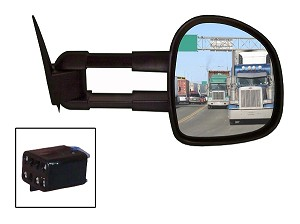 CIPA 70610 Magna Extendable Replacement Mirror Passenger Side Chevrolet/GMC