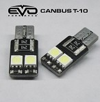 CIPA 93140 T-10 LED Bulbs With Canbus- White