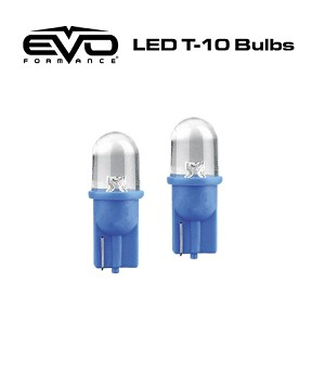 CIPA 93143 EVO Formance LED T-10 Bulb - Blue