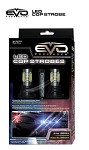 CIPA 93189 EVO Formance LED Cop Headlight Strobes - Red/Blue
