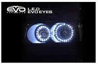 CIPA 93204 EVO Formance LED EVO Eyes (Halos) - Blue