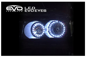 CIPA 93207 EVO Formance LED EVO Eyes (Halos) - White