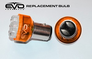 CIPA 93242 EVO Formance LED Replacement Bulbs - Amber - 3157