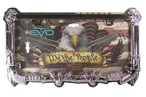 "CIPA 93457 License Plate Frame ""We The People"""