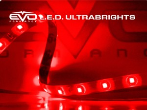CIPA 93511 EVO Formance LED Ultrabrights 10cm- Red