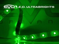 CIPA 93532 EVO Formance LED Ultrabrights 20cm- Green