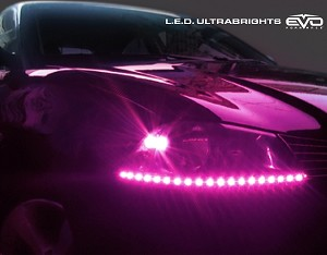 CIPA 93574 EVO Formance LED Ultrabrights 50cm- Fuchsia