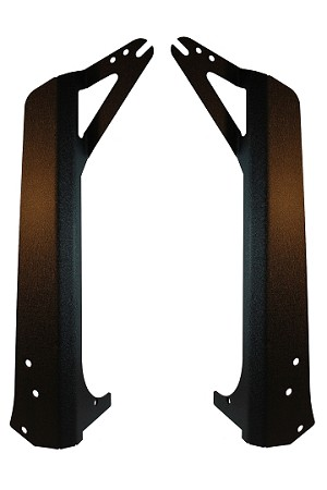 "CIPA 94710 Light Bar Brackets for 52"" Light Bar Jeep Wrangler 4WD (97-06) TJ/ (04-06) LJ Unlimited"