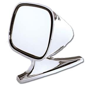Cipa 19000 Dual Sport Car Mirrors - Chrome - Pair