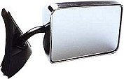 GM/Chevy S-10/S-15 Mirror, Chrome LH CIPA #20000