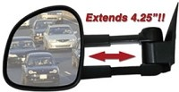 CIPA  82011 1997-2001 Ford (F150) Manual Pickup Truck Driver Mirror