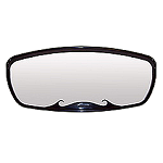 CIPA 02875 CIPA Wave Mirror - Black Housing, W/Square Bracket