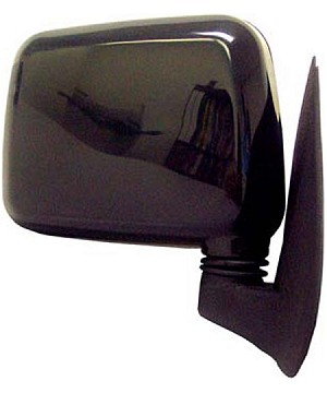 CIPA 19497 Original Style Replacement Mirror Honda Passenger side Manual Foldaway Non-Heated Black